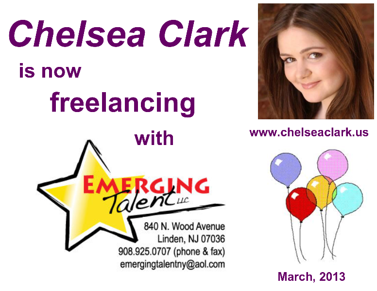 Chelsea Clark NYC SAG-AFTRA Actress