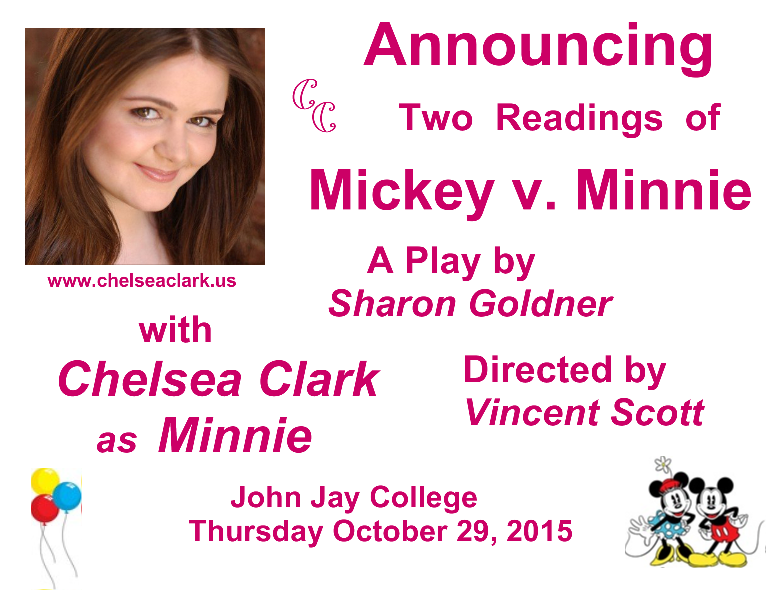 Chelsea Clark in MICKEY v MINNIE at John Jay College