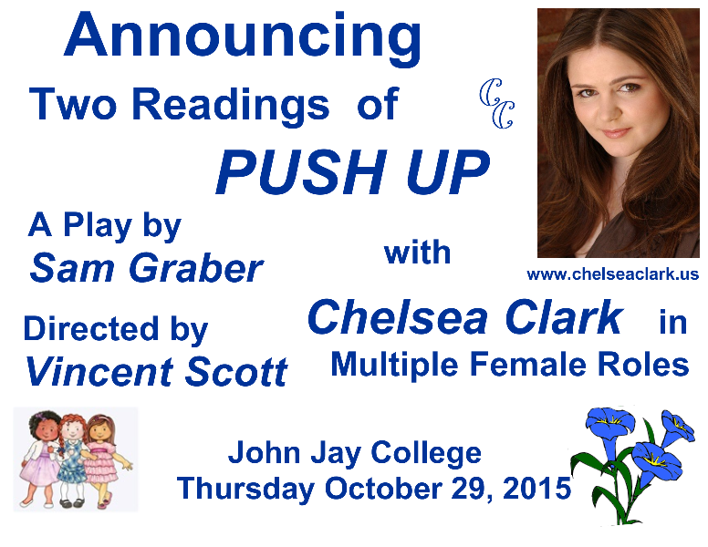 Chelsea Clark at John Jay College in PUSH UP