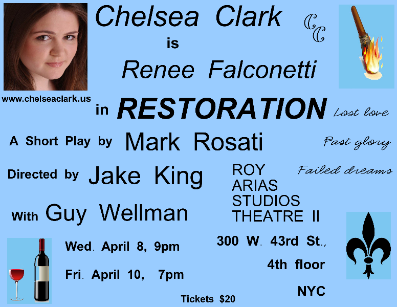 Chelsea Clark in Mark Rosati's RESTORATION 4.0 4.0